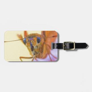 Golden Moth Bag Tag