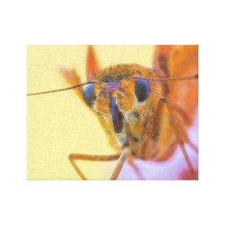 Golden Moth Canvas Print