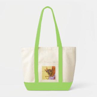 Golden Moth Impulse Tote Bag