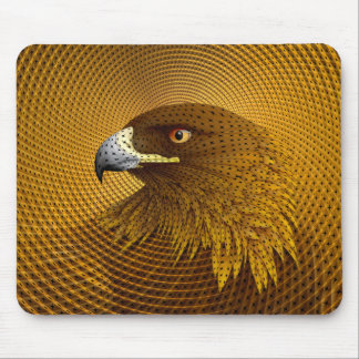 Golden Mouse Pad