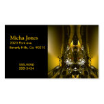 Golden Movie Reels And A Gazillion Stars Business Card Template