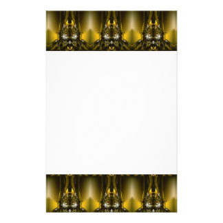 Golden Movie Reels And A Gazillion Stars Stationery