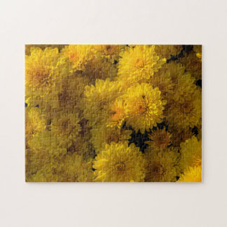 Golden Mums Jigsaw Puzzle