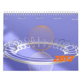 Golden music calendars