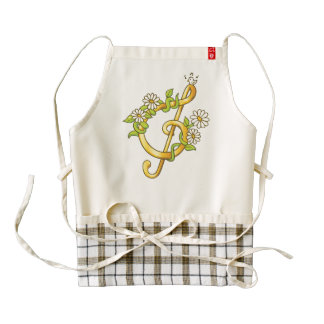 Golden musical note apron