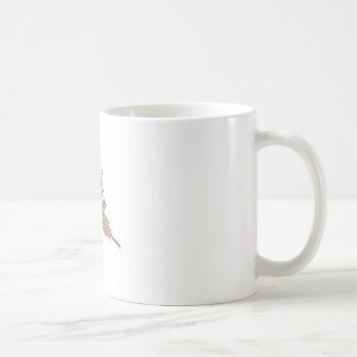Golden Nazca Lines Hummingbird Coffee Mug