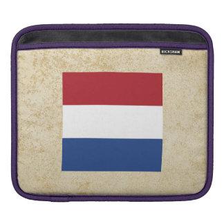 Golden Netherlands Flag Sleeve For iPads
