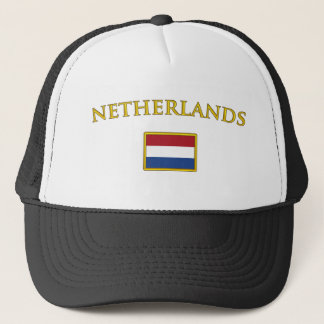 Golden Netherlands Trucker Hat