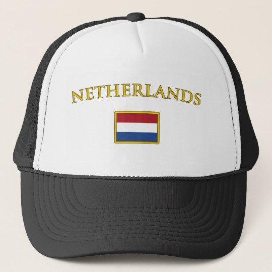 Golden Netherlands Trucker Hat