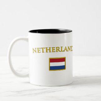Golden Netherlands Two-Tone Coffee Mug