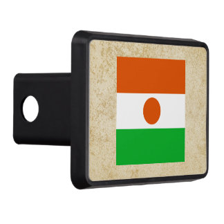 Golden Niger Flag Tow Hitch Covers
