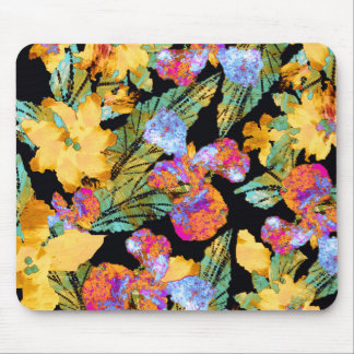 Golden Night Tropica Mouse Pad