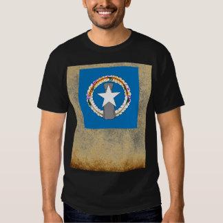 Golden Northern Mariana Islands Flag T-shirts