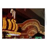 Golden Nugget Las Vegas Greeting Card