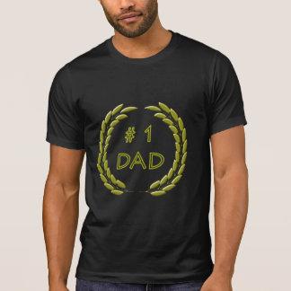 Golden Number 1 Dad Destroyed T-Shirt