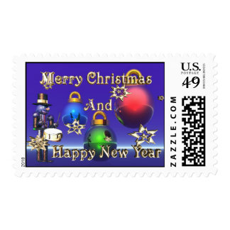 Golden Nutcracker Stamps