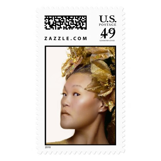 Golden Nymph Stamp