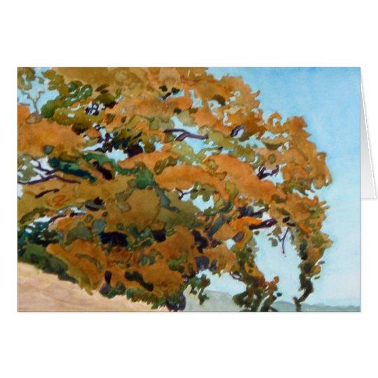 Golden Oak Card