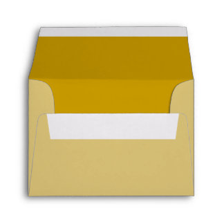Golden Ocre Background Color Customize This Envelopes