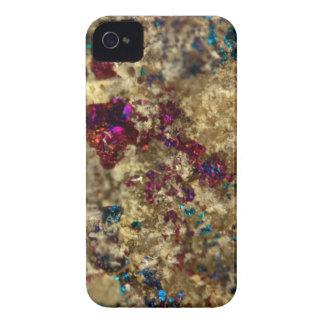 Golden Oil Slick Quartz iPhone 4 Case-Mate Case