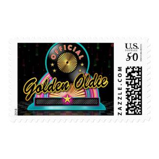 Golden Oldie Postage Stamps