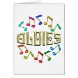 GOLDEN OLDIES GREETING CARD
