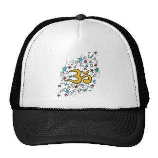 Golden Om Trucker Hat