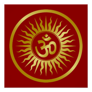 Golden Om Poster