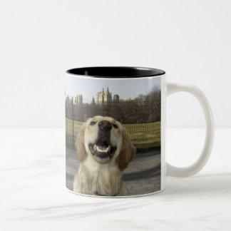 Golden on Great Lawn Coffee Mug