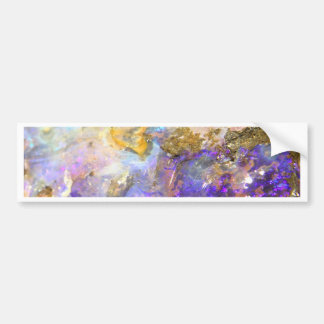 Golden Opal Bumper Sticker