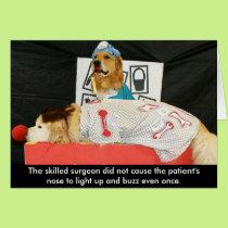 Golden Operation Get Well Card