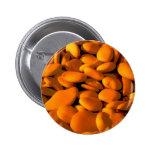 golden orange pebbles buttons