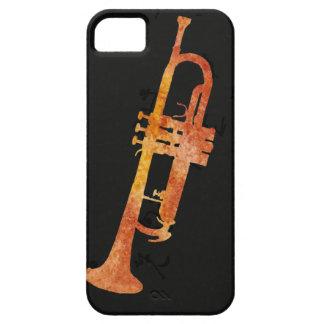Golden Orange Trumpet iPhone SE/5/5s Case
