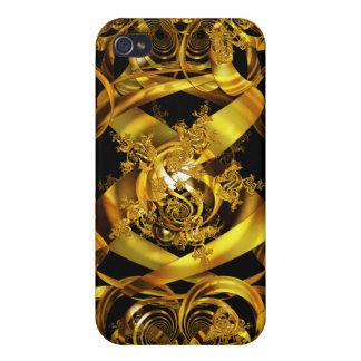 Golden Orb Range iPhone 4 Case