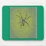 Golden Orb Spider Mouse Pads