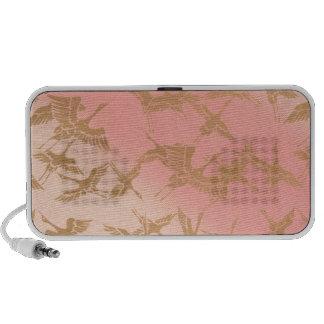 Golden Origami Crane iPod Speaker