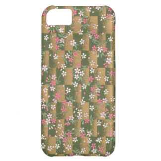 Golden Origami Pattern iPhone 5C Covers