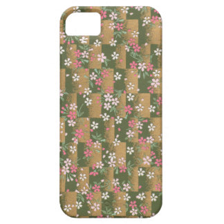 Golden Origami Pattern iPhone 5 Covers