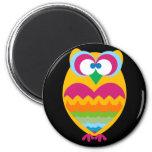 Golden Owl Fridge Magnets