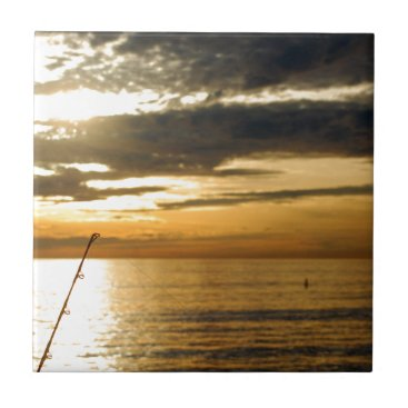golden pacific sunset ceramic tile