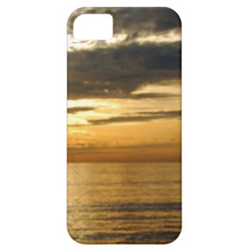Beach Themed golden pacific sunset iPhone SE/5/5s case