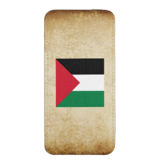 Golden Palestine Flag iPhone 5 Pouch