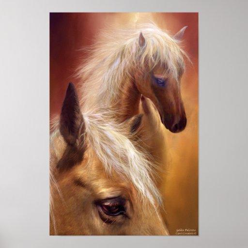 Palomino horse posters amp prints