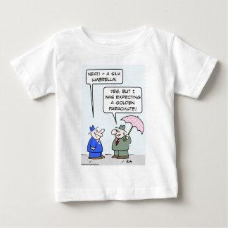 golden parachute silk umbrella infant t-shirt