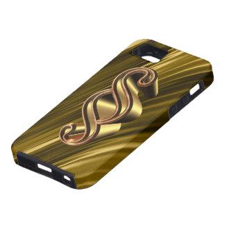 Golden paragraph symbol iPhone SE/5/5s case