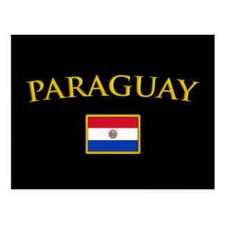 Golden Paraguay Postcard