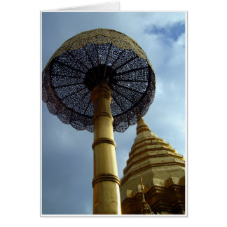Golden Parasol and Chedi Card