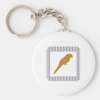 GOLDEN Parrot Pet Fairrytale Bird NVN279 FUN Kids Key Chain