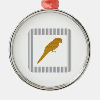 GOLDEN Parrot Pet Fairrytale Bird NVN279 FUN Kids Christmas Ornaments