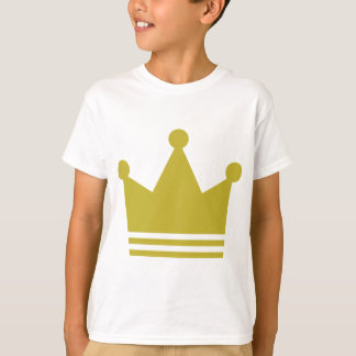 golden party crown icon T-Shirt